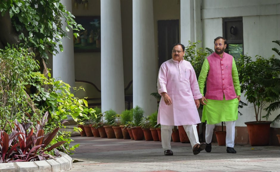 The party also rushed three senior ministers — Dhamendra Pradhan, Prakash Javadekar and JP Nadda to strategise with the local leadership. BJP spokesman Shantaram said his party was open to an alliance with the JD-S or seek its support to form the new government. PTI