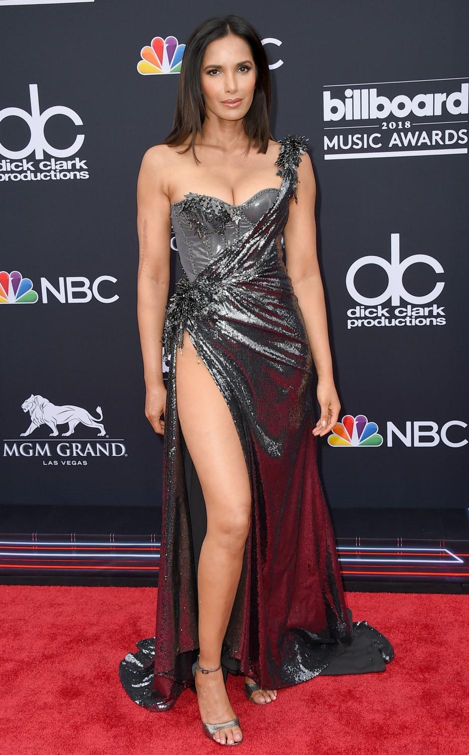 Padma Lakshmi at the Billboard Music Awards/Photo by Jordan Strauss/Invision/AP