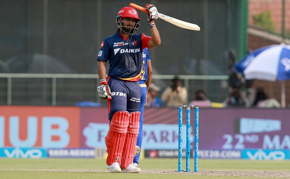 Rishabh Pant continued his purple patch with the bat, ending his season with another half-century. Sportzpics