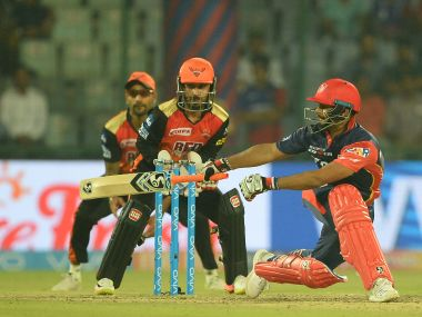 Rishabh Pant scored an unbeaten ton against Sunrisers Hyderabad on Thursday. AFP