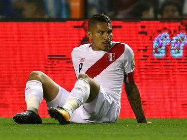 FIFA World Cup 2018: Suspended Peru captain Paolo Guerrero appeals to Swiss court to overturn doping ban