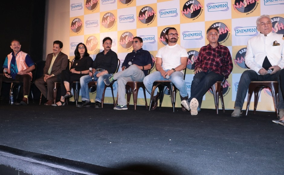 To celebrate 30 years of Qayamat Se Qayamat Tak, a special screening was held where Aamir Khan, along with director Mansoor Khan, music duo Anand Milind and other cast and crew were present