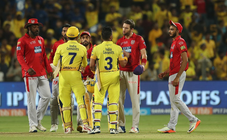 Kings XI Punjab to were knocked out of the IPL after the defeat which led to Rajasthan Royals qualifying as the fourth team in the playoffs. Sportzpics