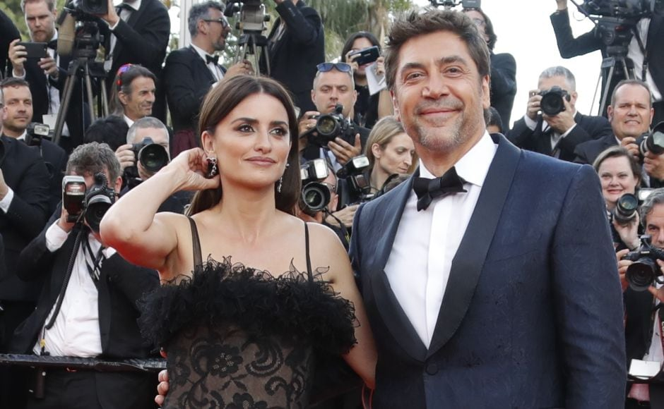 The 71st Cannes Film Festival kicked off with the screening of the film Everybody Knows (Todos lo saben). Cast members Penelope Cruz and Javier Bardem arrive at the opening ceremony. Reuters/Eric Gaillard