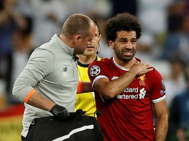 FIFA World Cup 2018: Egypts Mohamed Salah out for three to four weeks due to shoulder injury, says Liverpool physio