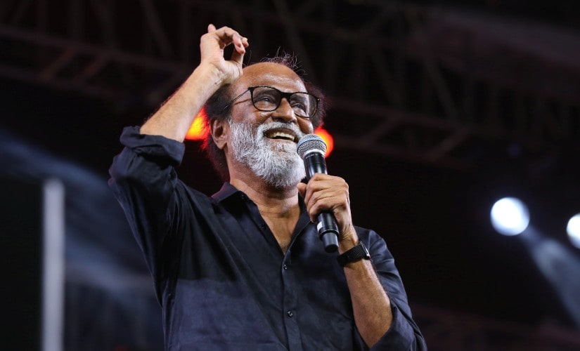 Rajinikanth at the Kaala music launch