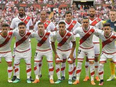 File image of Rayo Vallecano players. Twitter: @RayoVallecano