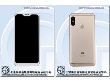 Larger variant of the Redmi 6 spotted on TENAA bearing a notch and a 5.84-inch Full HD Plus display