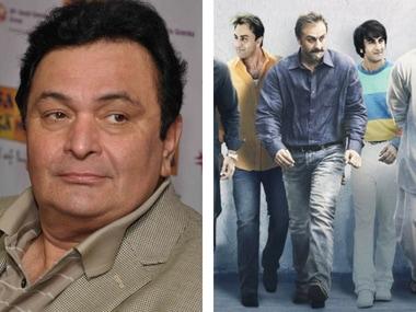 Sanju: Rajkumar Hirani hosts preview; Rishi Kapoor 'overwhelmed' by son Ranbir's transformation