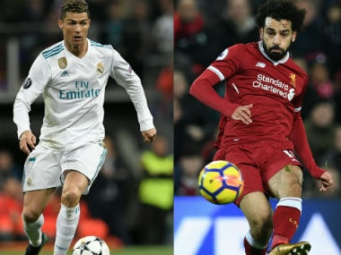 Champions League final will see world's best 'inside forwards' clash as down-to-earth Mohamed Salah meets larger-than-life Cristiano Ronaldo