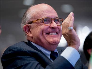 North Korea's Kim Jong-un 'begged on his hands and knees' for summit with Donald Trump, says Rudy Giuliani