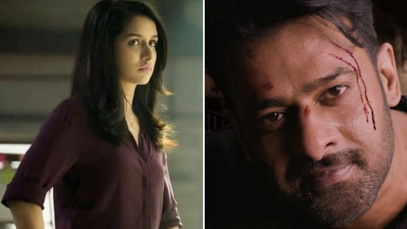 Shraddha Kapoor and Prabhas in Saaho. Facebook