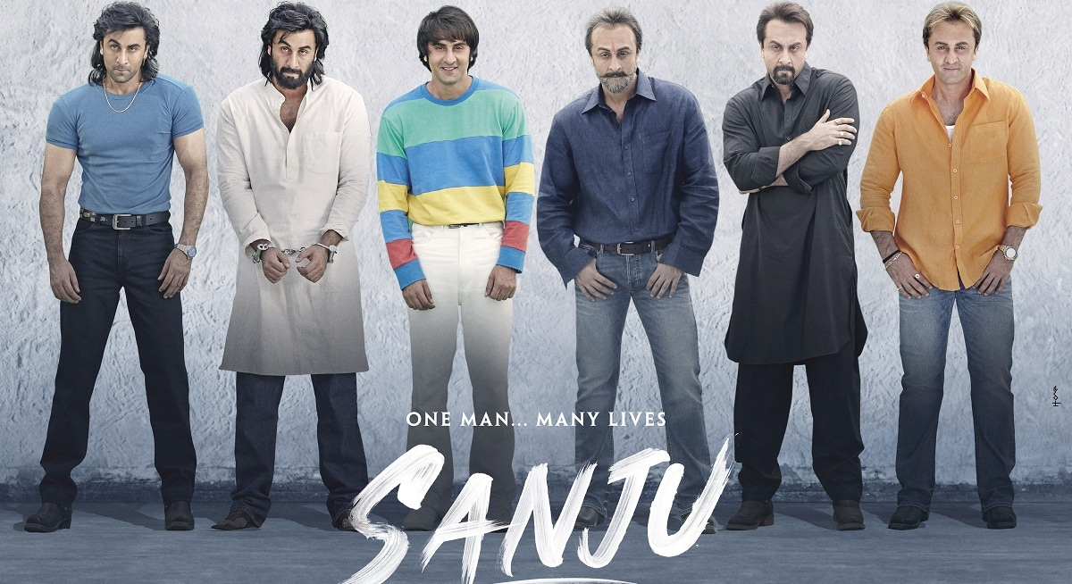 'Sanju' surpasses 'Padmaavat' and 'Baahubali 2', earning INR1.2 billion in three days