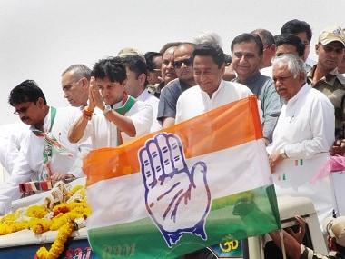 File image of Madhya Pradesh Congress Committee President (PCC) Kamal Nath and Chairman of Madhya Pradesh election campaign committee Jyotiraditya Scindia. PTI