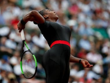 French Open 2018: Serena Williams describes eye-catching black catsuit as 'fun as well as functional'