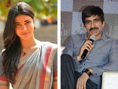 Shruti Haasan to play one of three female leads in Ravi Teja's next film Amar Akbar Anthony