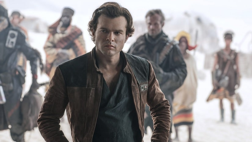 Alden Ehrenreich in a still from Solo: A Star Wars Story. Image via Twitter