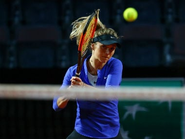 Elina Svitolina in action. Reuters