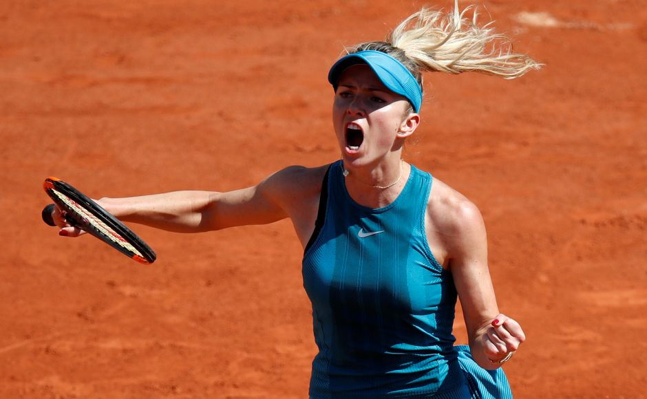 Fourth seed Elina Svitolina saved a set point before completing a turnaround as she entered the second round with a hard-foughtwin over Ajla Tomljanovic. Reuters
