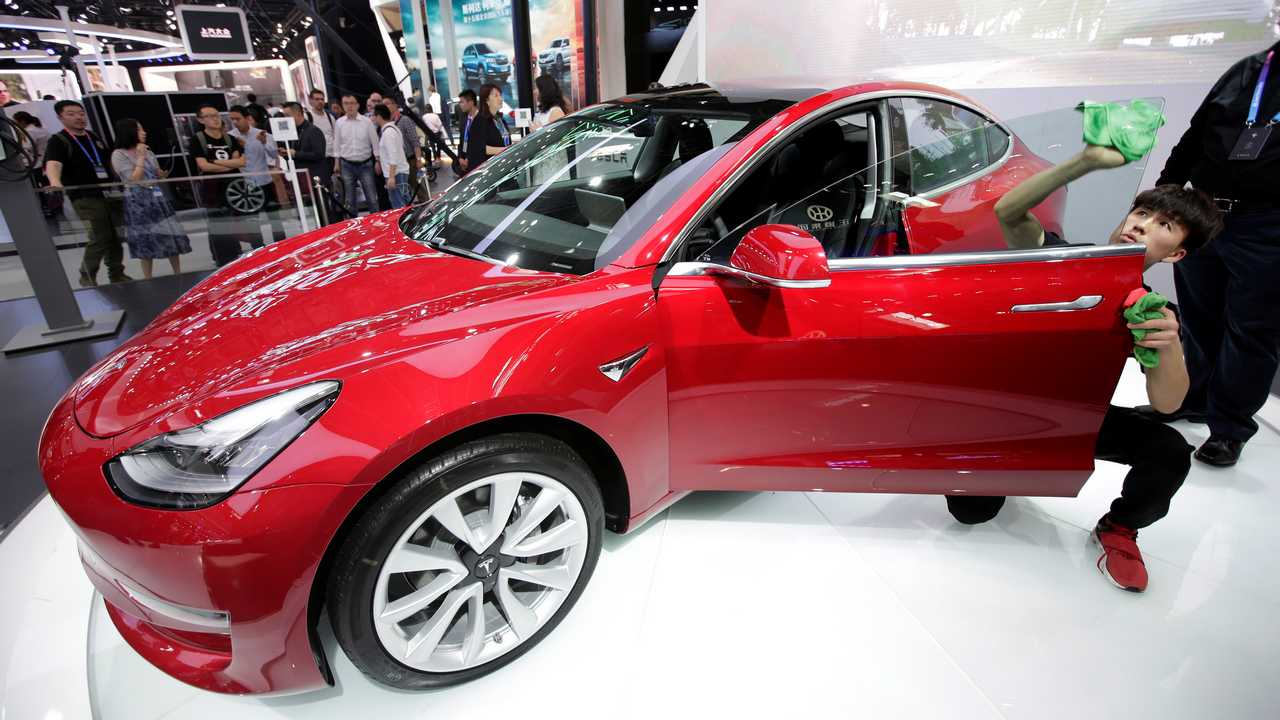 Tesla starts taking Model 3 sedan orders in China for a