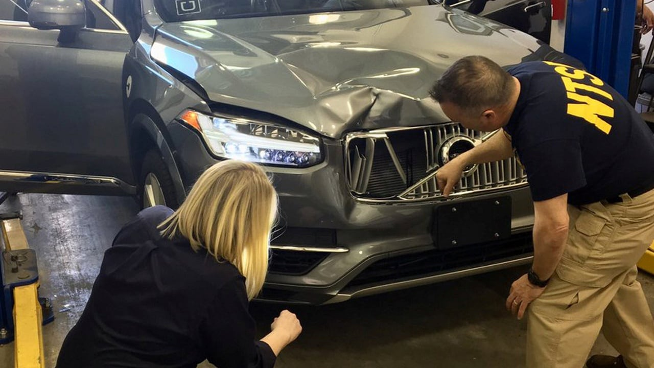 Uber Arizona fatality: NTSB says self-driving SUV's automatic braking was disabled