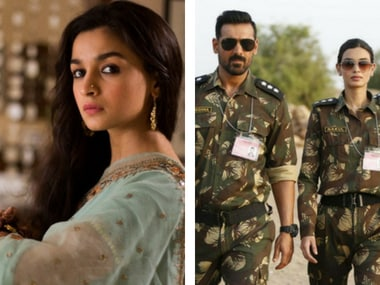 Raazi, Parmanu box office collection: Alia Bhatt's film crosses Rs 100 crore, John Abraham-starrer stands at Rs 20 crore