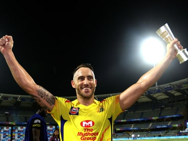 IPL 2018: Faf du Plessis produces masterclass in chasing against Sunrisers Hyderabad as Chennai Super Kings reach 7th final