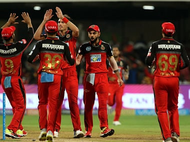 Tim South, Mohammad Siraj and Umesh Yadav took two wickets a piece to help RCB win by 14 runs. Sportzpics