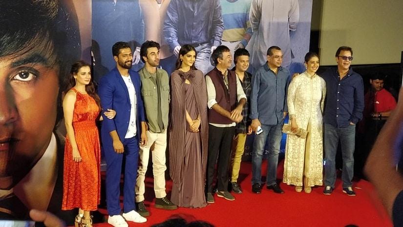 Sanju trailer launch: Ranbir Kapoor says he hopes Sanjay Dutt thinks he has been represented with honesty