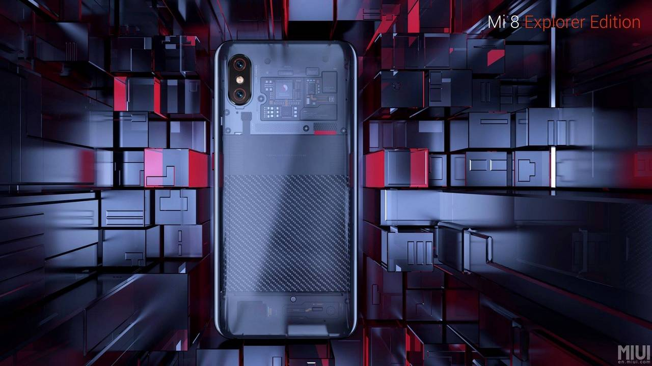 The Xiaomi Mi 8 Explorer Edition. Image: miui.com