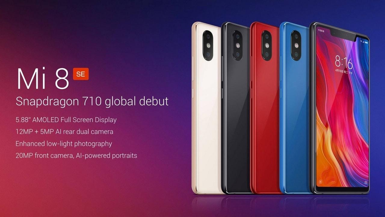 The Xiaomi Mi 8 SE. Image: miui.com
