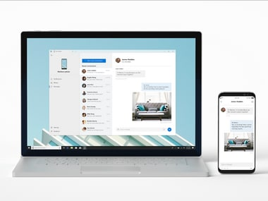 Microsoft launches Your Phone app which lets users manage smartphone content directly from a Windows 10 PC