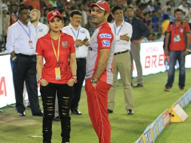 IPL 2018: Kings XI Punjab deny Preity Zinta-Virender Sehwag spat, says 'open and transparent culture' being misinterpreted