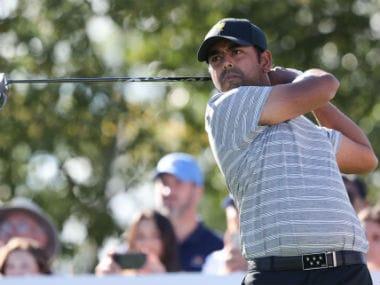 File photo of Anirban Lahiri. Reuters