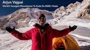 Meet Arjun Vajpai, the world's youngest mountaineer to scale six peaks over 8000 meters high