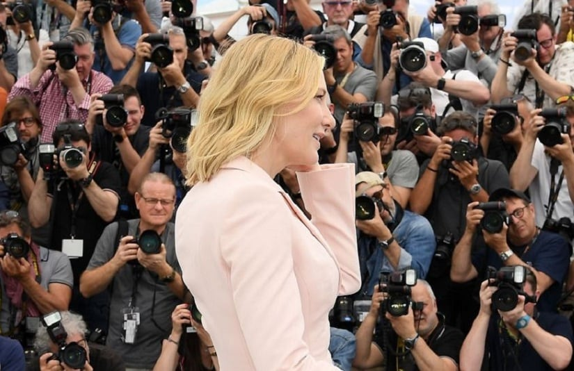 Cate Blanchett at Cannes Film Festival 2018. Twitter