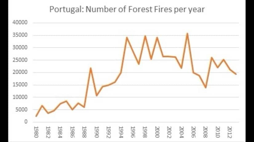 Image result for portugal forest data 2018
