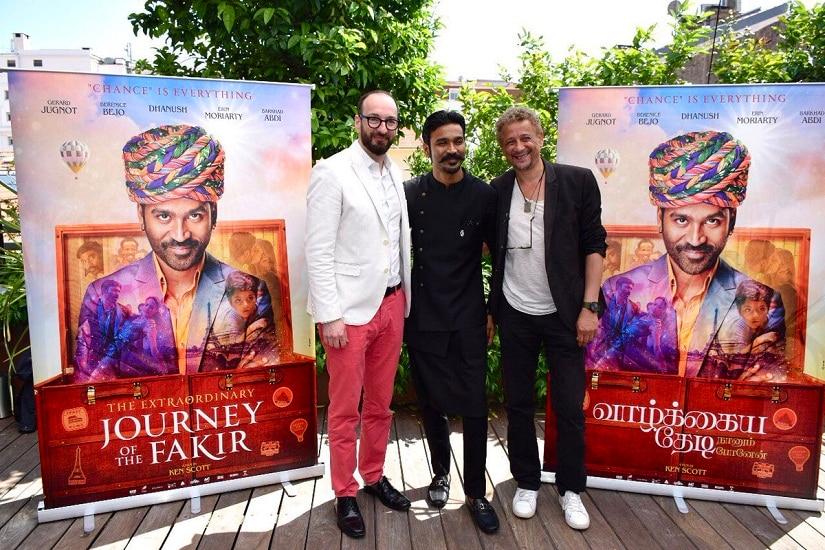 Dhanush brings his Maari style to Cannes 2018 red carpet