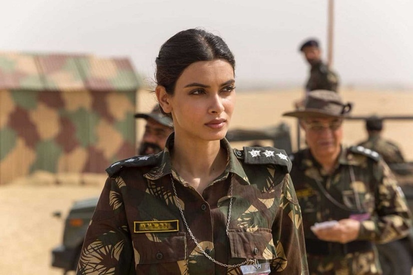 Diana Penty in a still from Parmanu: The Story of Pokhran. YouTube