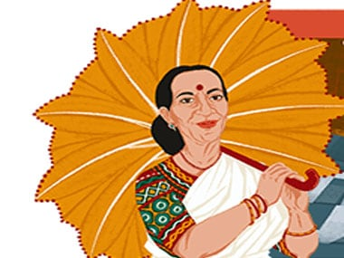 Google celebrates 100th birth anniversary of Mrinalini Sarabhai. Google