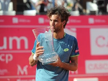 Estoril Open: Portugals Joao Sousa defeats Frances Tiafoe to become first home player to win tournament