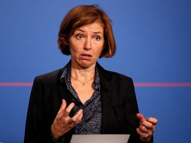 File image of French defense minister Florence Parly. Reuters