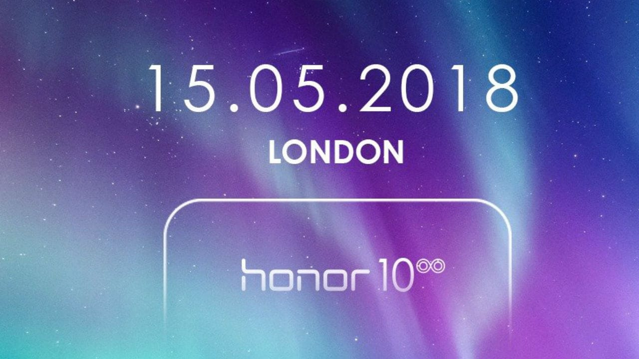Honor 10 launch inivite.. Honor