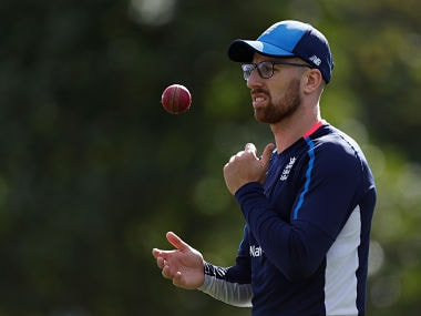 England's Jack Leach suffers injury ahead of squad selection for first Test against Pakistan