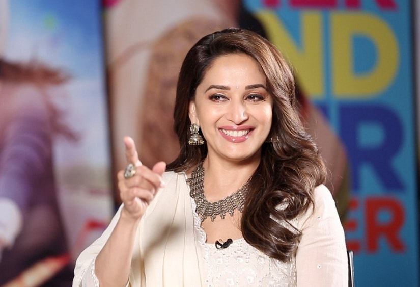 Madhuri Dixit. Image from Twitter/ @NenaSNK