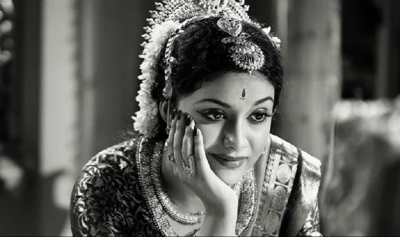 Keerthy Suresh in a still from Mahanati. YouTube