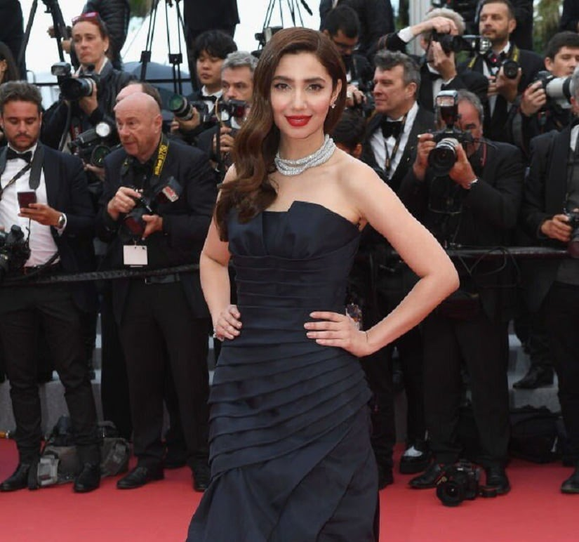 Mahira Khan at Cannes 2018. Getty Images/ Dominique Charriau