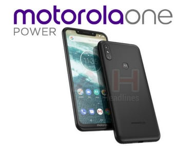 Motorola One Power smartphone is expected to come with a notch and will be powered by Android One