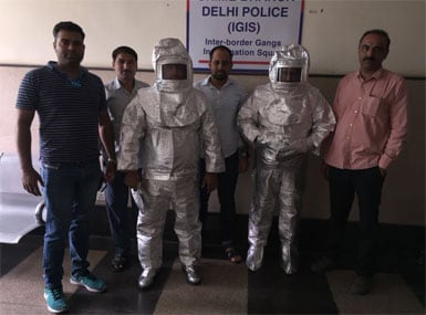 Fraud that's 'out of this world': Delhi Police bust fake spacesuit scam, arrest two for duping people with 'rice puller device'