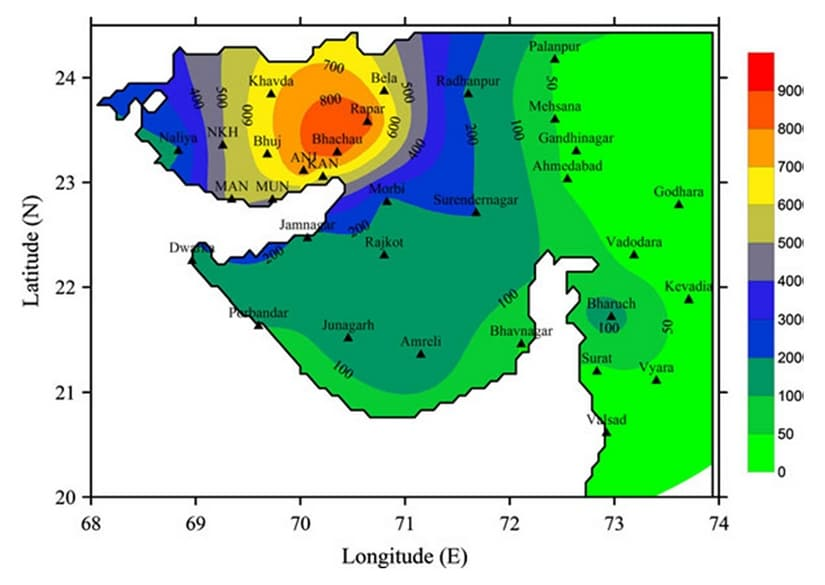 Seismic research body, ISR prepares district-level earthquake hazard map for Gujarat using data since 1668